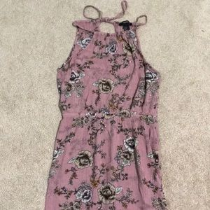 Floral maxi dress from forever 21